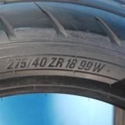 nitto nt05 2754018 pair 2